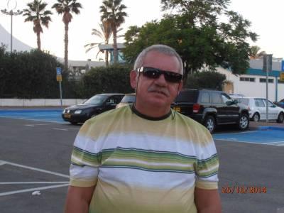 Владимир, 59 лет Бат Ям Анкета: 618